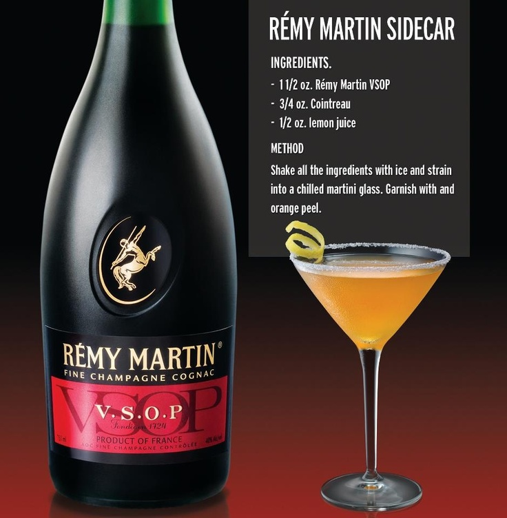 Remy Martin Sidecar Cocktail