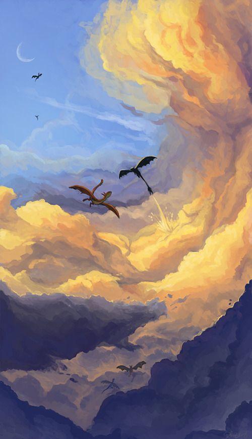Writing World – düsterer Optimist: Kann ich jetzt einen Drachen haben?