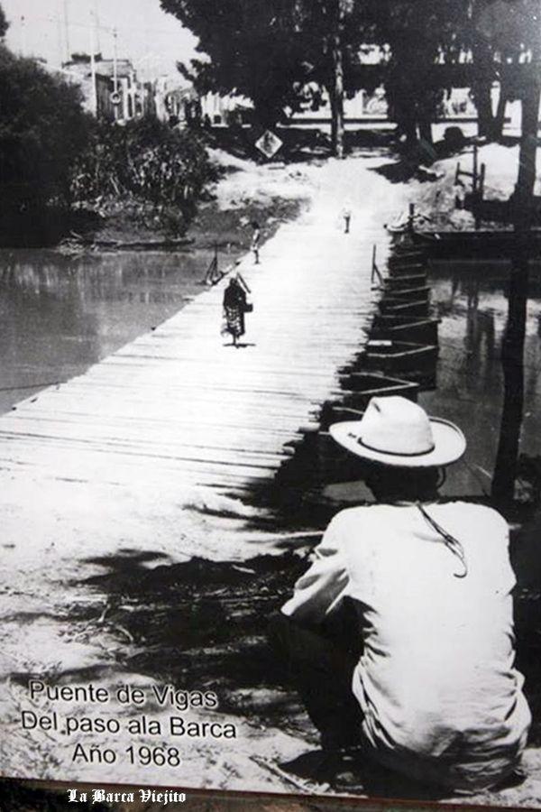 Puente de Vigas del paso a La Barca Jalisco Mexico