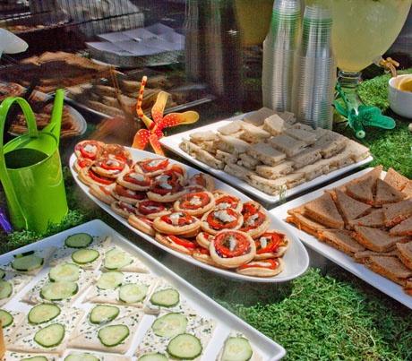Garden Party Food