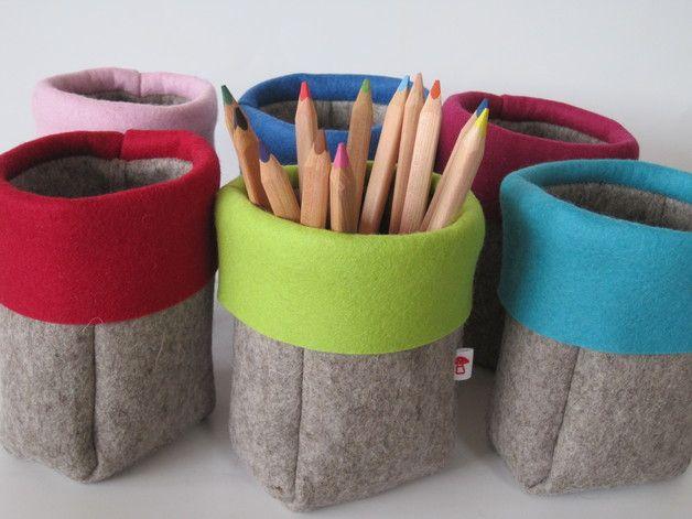 Stiftebecher, Blumenvase, Utensilo