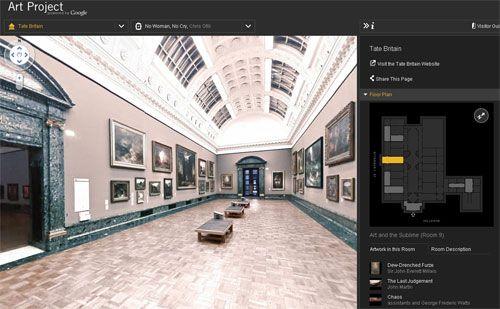 ArtProject: Museografía Online de Google – Por Walter Meade
