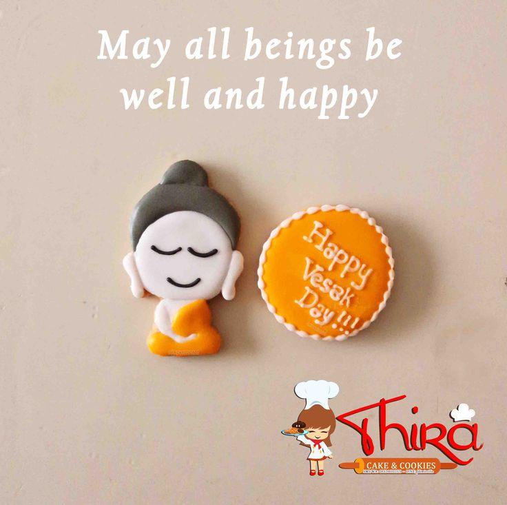 Buddha themed cookies