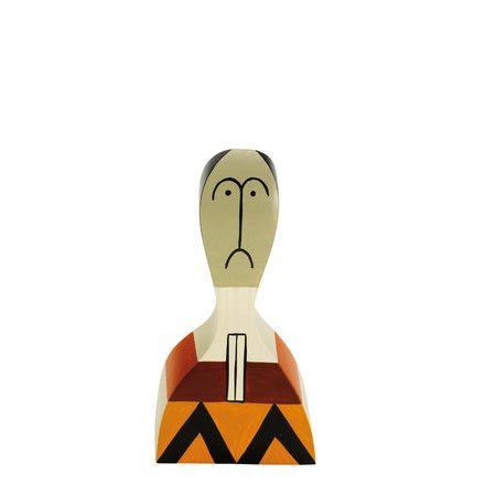 Vitra - Wooden Dolls No. 17 Mehrfarbig T:4 H:14 B:7