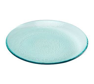 Fresca Outdoor Dinner Plate, Set Of 4, Turquoise