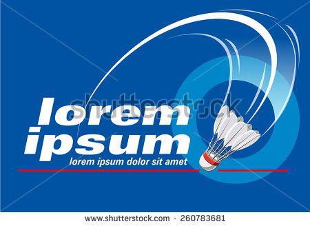 badminton logo event