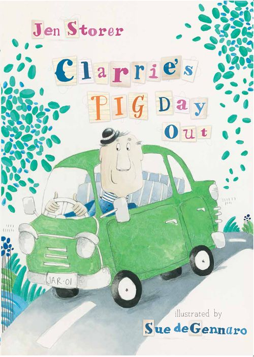 Feb 2016. My first picture book! Illustrated by Sue de Genarro. HarperCollins Publishers. Ages 3+ Dear, sweet Clarrie is always getting his worms, oops, his WORDS, mixed up.