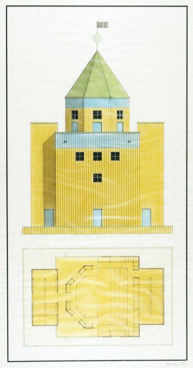 Teatro del Mondo (1979-1981)   Aldo Rossi