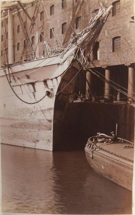 Albert Dock Liverpool UK 1915
