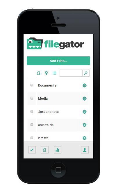 download script FileGator nulled gratis