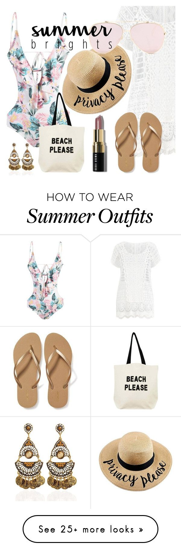 """VACATION"" by lauren53103 on Polyvore featuring Ralph Lauren, Old Navy, Fallon & Royce and Bobbi Brown Cosmetics"