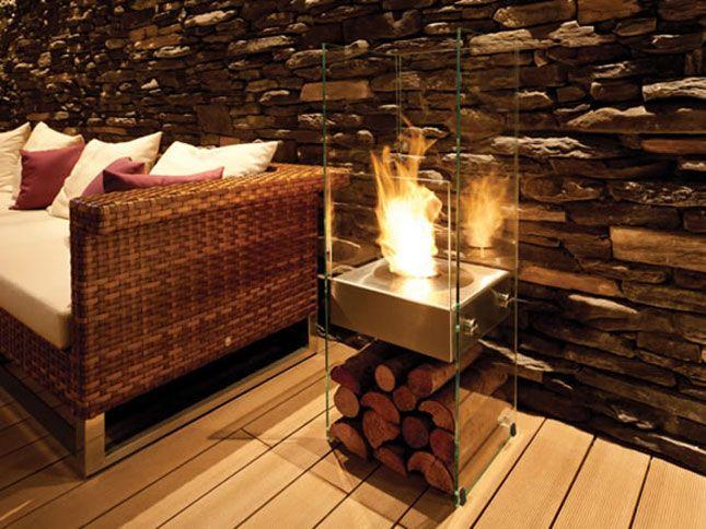 10 Portable Fireplaces for Petite Places | Brit + Co.
