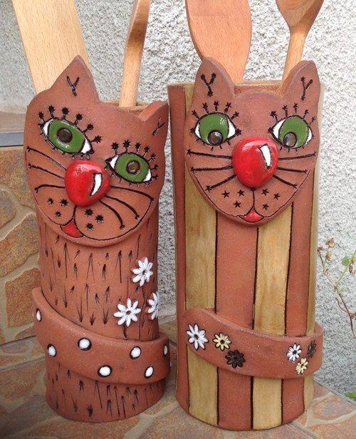 Dóza na vařečky - kočka