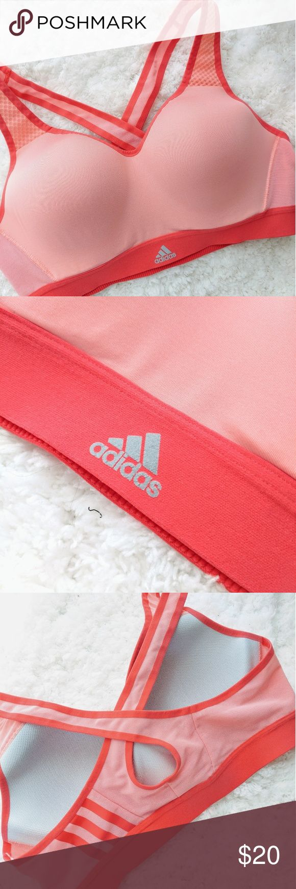 Adidas Supernova X Sports Bra Worn Once  Like new  Size Medium Very soft and has very good support Adidas Intimates & Sleepwear Bras