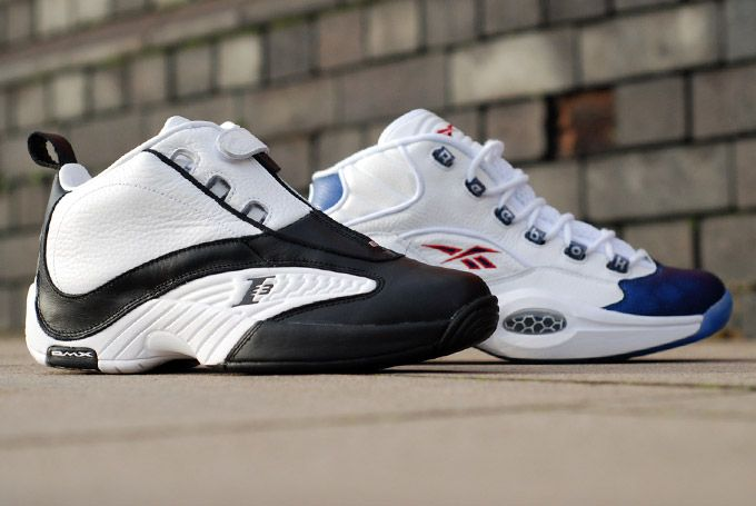Reebok The Question & The Answer IV reissues ... Allen Iverson helped change professional basketball and Reebok's decision to ...