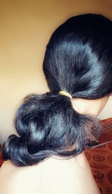 تسريحة الشعر المربوط Hair Style Hairstyle Tie Low Ponytail Hairstyle Ponytail تسريحة شعر ذيل الحصان المنخفضة