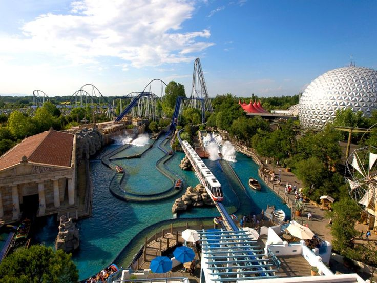 PHOTO: Europa Park in Rust, Germany.