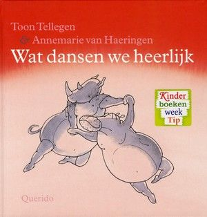 Het nijlpaard en de neushoorn doen een dans die nergens op lijkt en de beer danst op krekels feest met de honingtaart. Vierkant prentenboek met vijf verhalen ...
