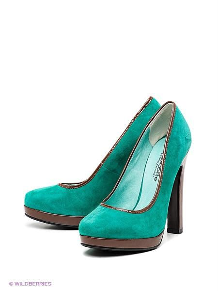 Mascotte зеленые туфли