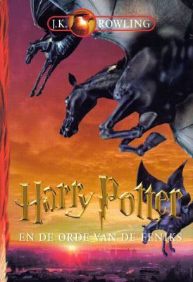Harry Potter and the Order of the Phoenix cover from the Netherlands.