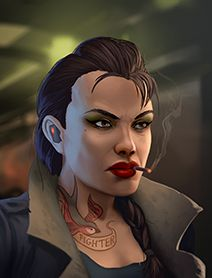 Female Human Shadowrunners  Portraits from Shadowrun Returns and Shadowrun Dragonfall. Shadowrun Portrait Posts