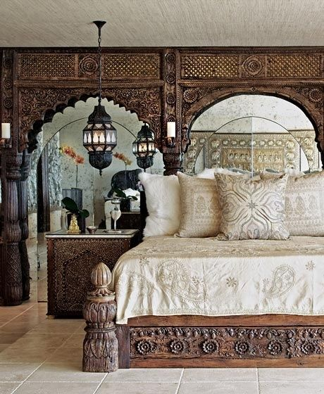 1000 id es sur le th me indian bedroom decor sur pinterest for Chambre indienne decoration