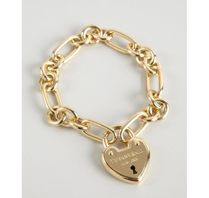 This Tiffany bracelet holds the key to any girls heart