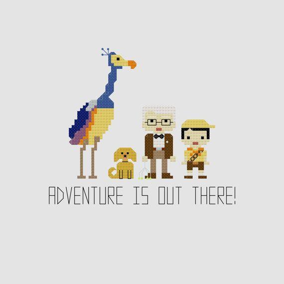Up! Altas Aventuras, Up!, Disney, Pixar