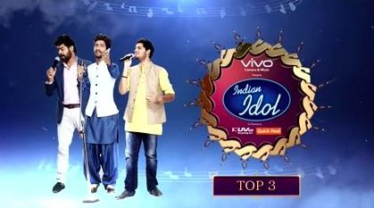 Indian Idol - Top 3 - Promo:  http://www.desiserials.org/indian-idol-top-3-promo/190021/