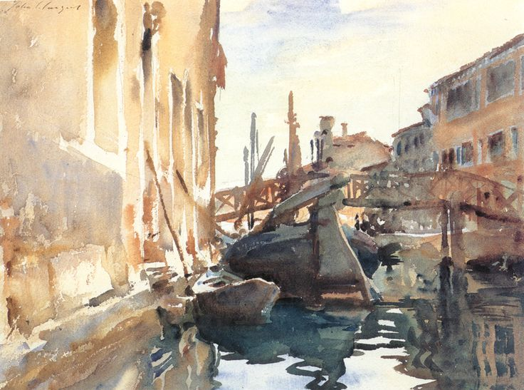 Sargent - Venice, The Giudecca, ca. 1903