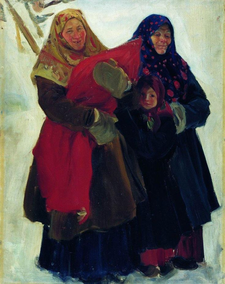 Boris Kustodiev (Russia, 1878 – 1927) Women, 1902