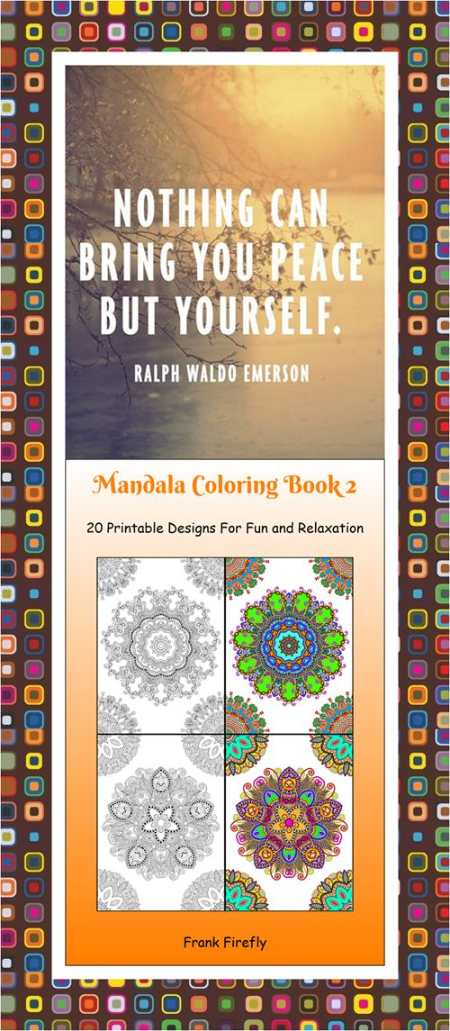 36 Best Mandala Patterns Coloring Book Pages Images On Pinterest