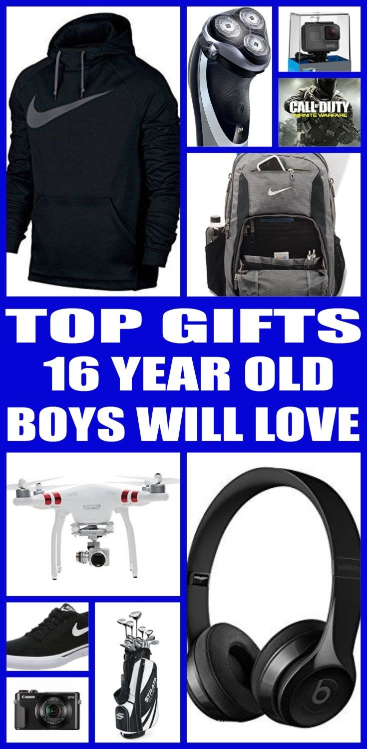 Find the best gifts for 16 year old boys! Teens / Kids would love a gift from this ultimate gift guide. Find the best electronics, games, toys and non toy gifts perfect for 16 year old boy birthdays, Christmas and other gift occasions. Cool & Awesome Tween and Teen Gifts for Boys!