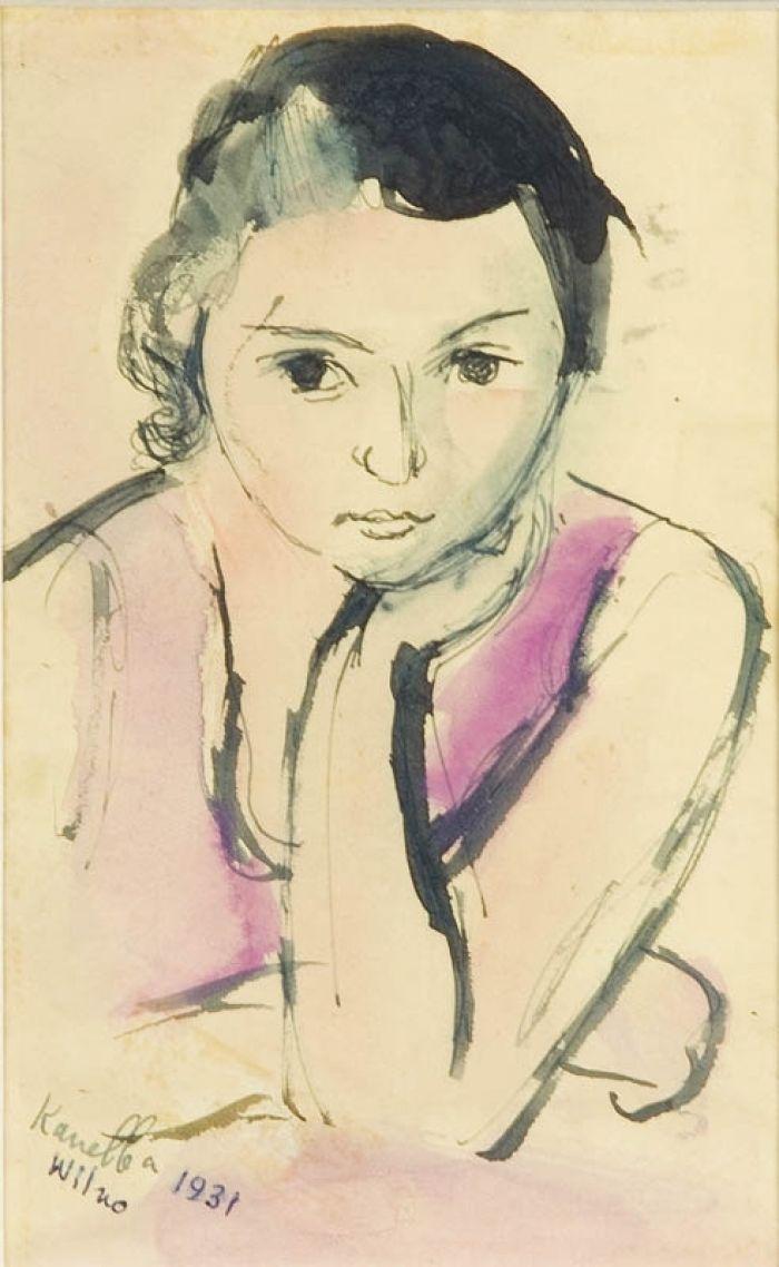 - Portret dziewczynki, 1931 r.
