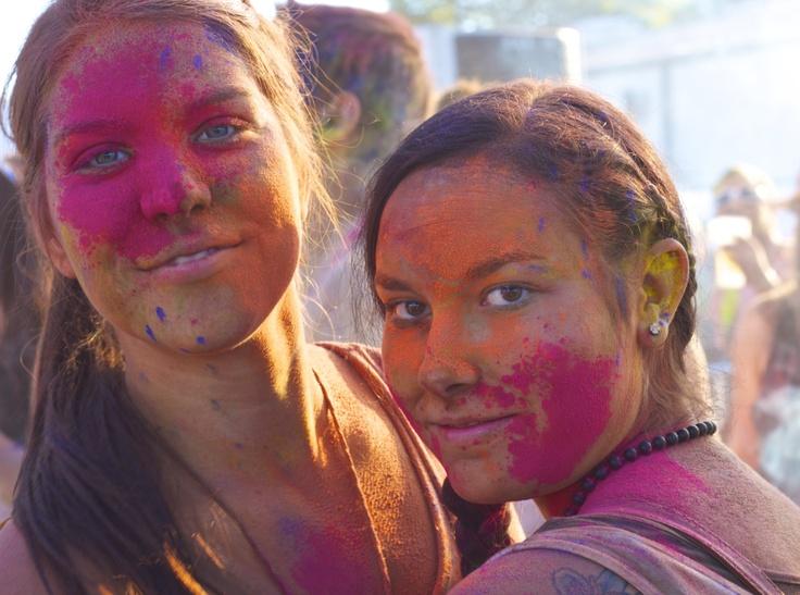 Coloured girls - Holi festival 2012 - munich / Germany CC-BY-NC-SA @josef_hajda