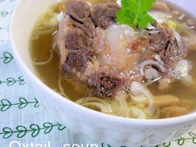 これがホント☆の絶品テールスープの画像