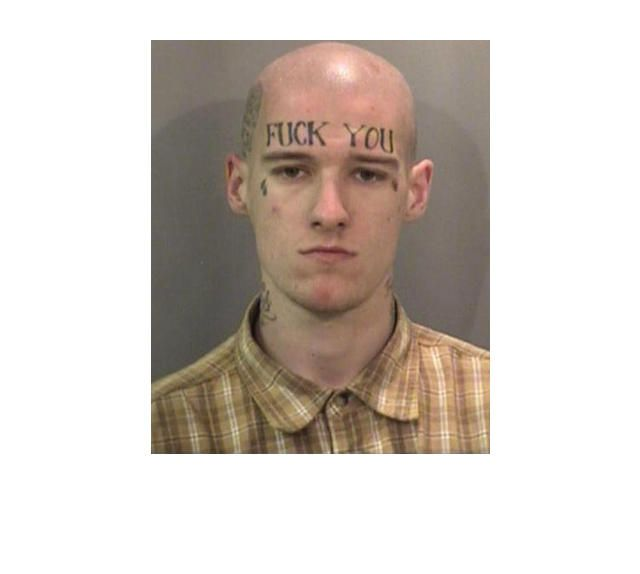 39 Tragically Bad Face Tattoos...I Can't Look Away. (Slide #36) - offbeat