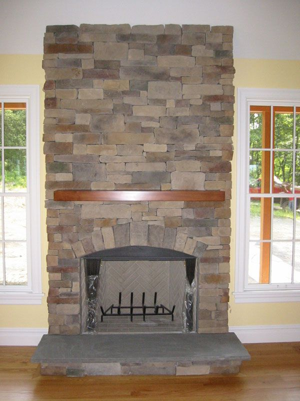 Stone Fireplace Pictures   Natural Stone, Manufactured Stone And .