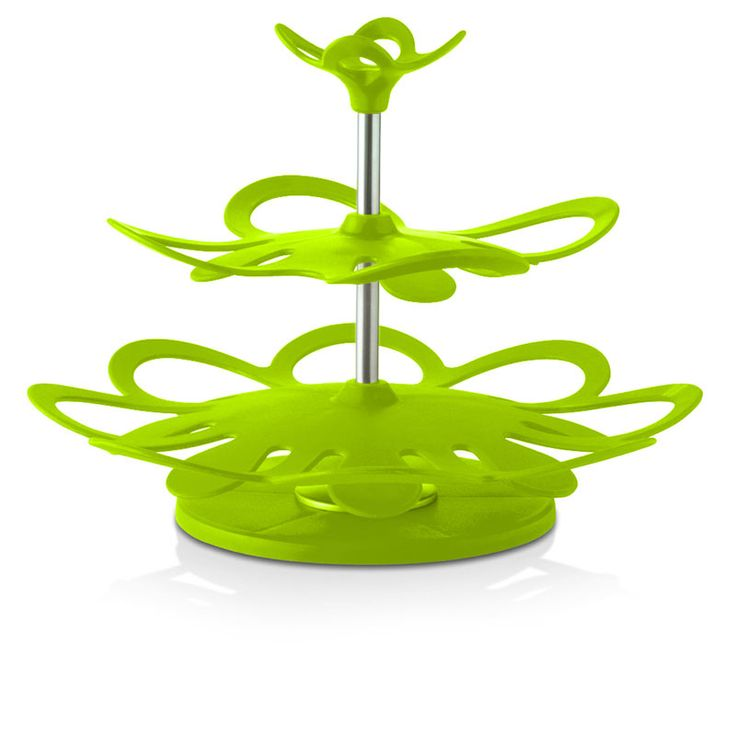 Galvanized 3 Tier Serving Stand | ... KITCHEN LIME GREEN FAIRY CUPCAKE 3 TIER SERVING STAND WEDDING TEAPARTY