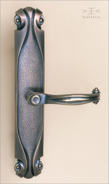 Cortina Backplate 312cm Lever Handle Antique Bronze