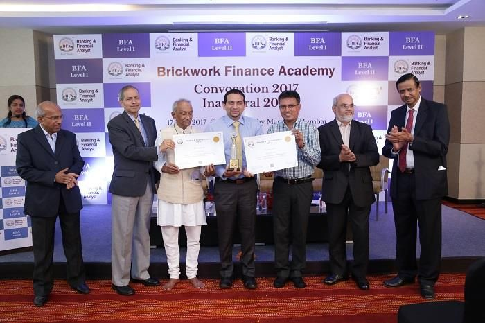 Banking & Financial Analyst - #BFA 2017 Batch of Students of BFA Level I and Level II Graduated Today. Nilesh Shah was the Convocation Guest