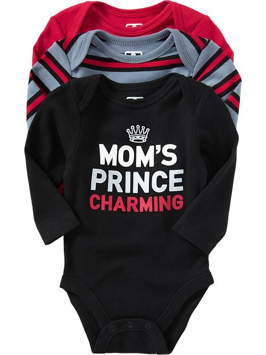 Bodysuit 3-Packs for Baby | Old Navy- I LOOOOOVE THIS!!!