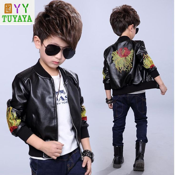 >> Click to Buy << Leather Jackets for Kids 2017 New Cartoon Boys Leather Jacket Boys Kids Leather Jacket Baby Bomber Jackets Kids Motorcycle Coats #Affiliate