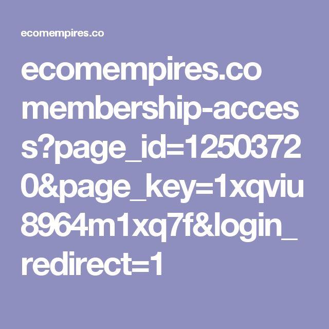 ecomempires.co membership-access?page_id=12503720&page_key=1xqviu8964m1xq7f&login_redirect=1
