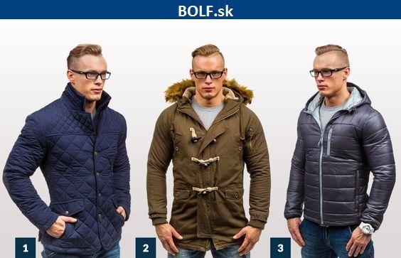 Predstavujeme vám 3 modely pánskych búnd na chladné dni http://www.bolf.sk/on/panske-bundy