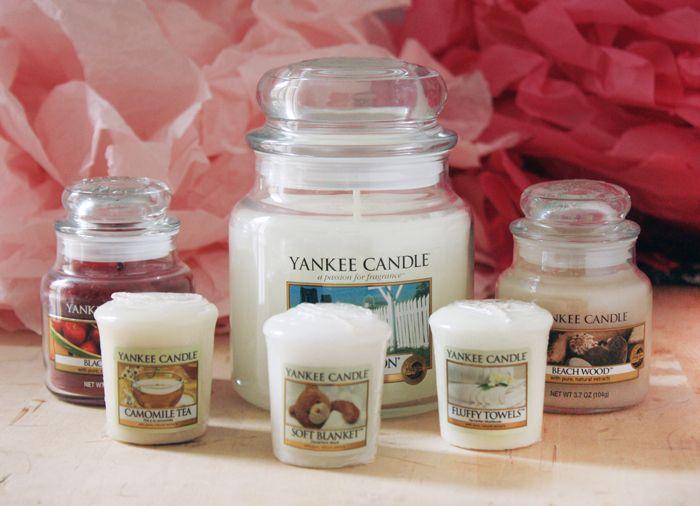 Des bougies parfumées Yankee Candle