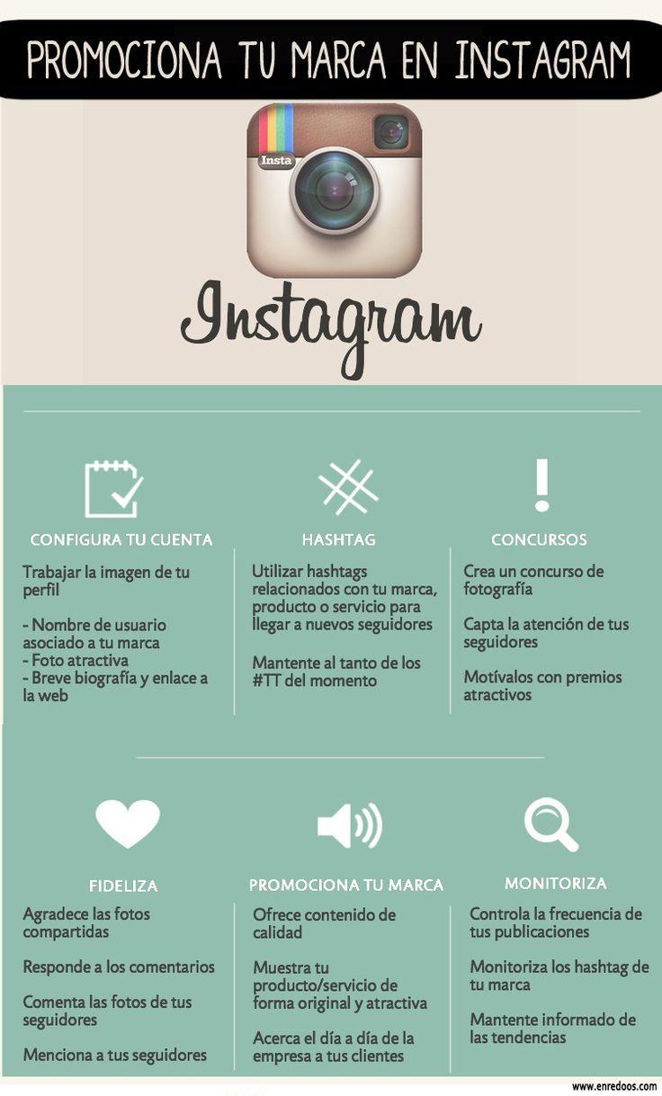 #Infografía: Promociona tu marca en #Instagram