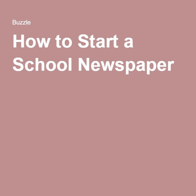 Something we are looking to bring back is the school newspaper and the students want to do digital so save money and everyone is digital anymore