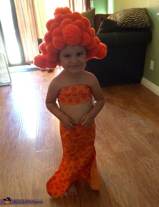 Bubble Guppies Deema DIY Costume - 2015 Halloween Costume Contest