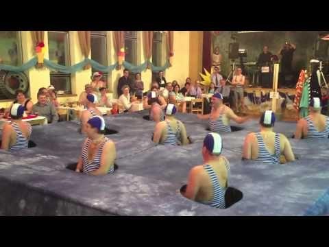 Skautský ples Straky - synchronizovaní plavci - YouTube